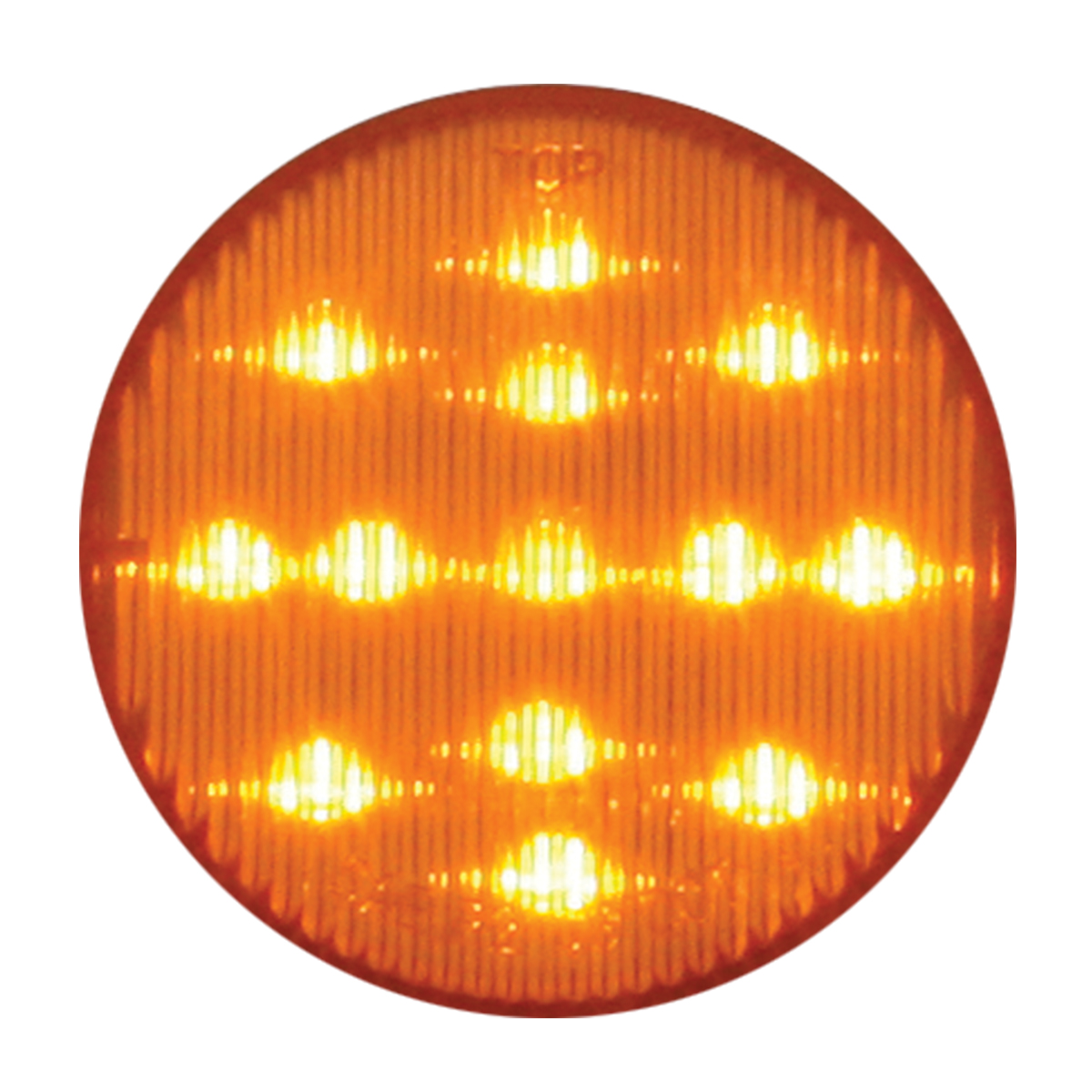 """#79310 2 ½"""" LED Flat Amber/Amber Light"""