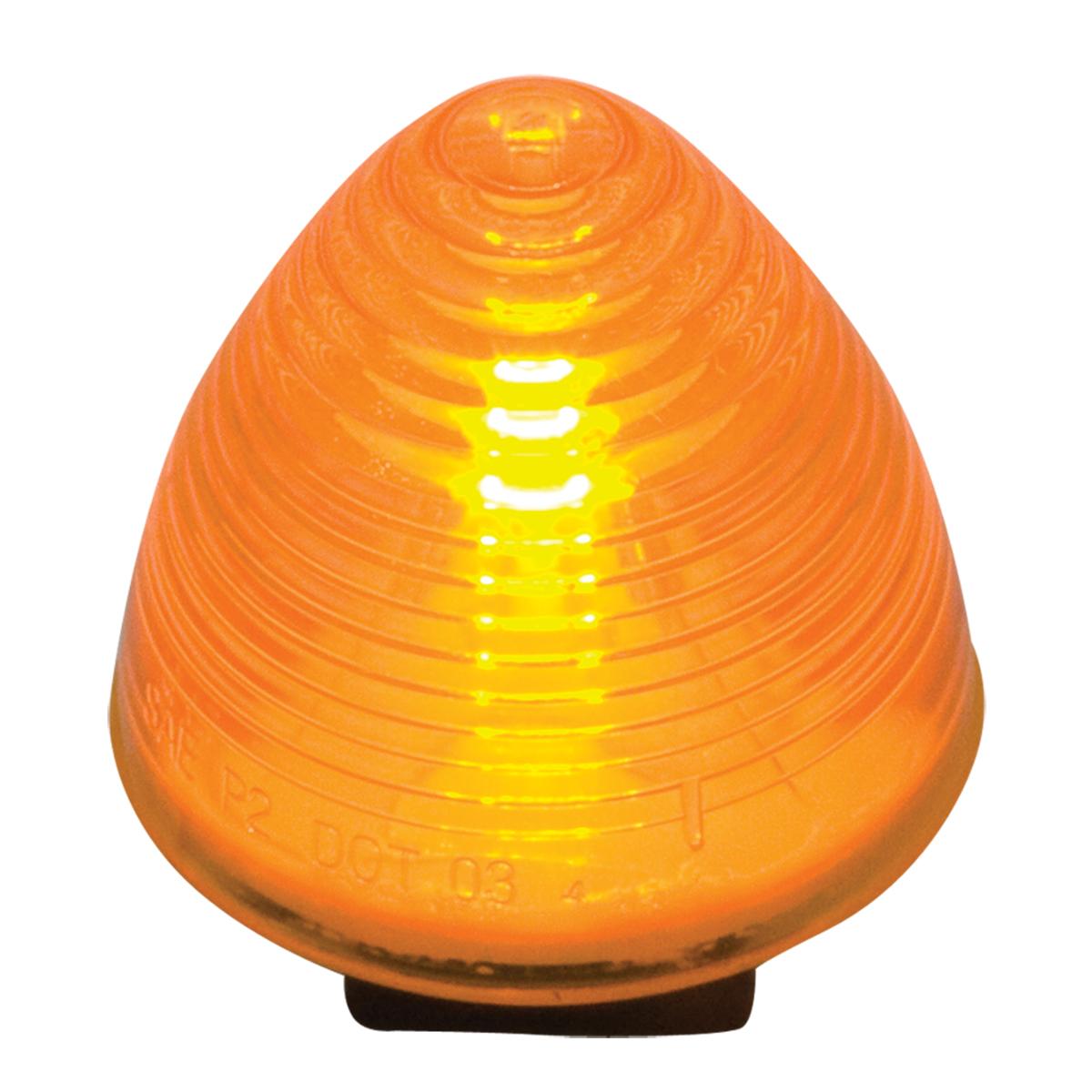 "#80942 2"" Incandescent Beehive Amber/Amber Light"