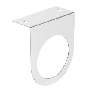 """Stainless Steel Single Light """"L"""" Shape Mounting Brackets with 2 ½"""" Sealed Lights"""