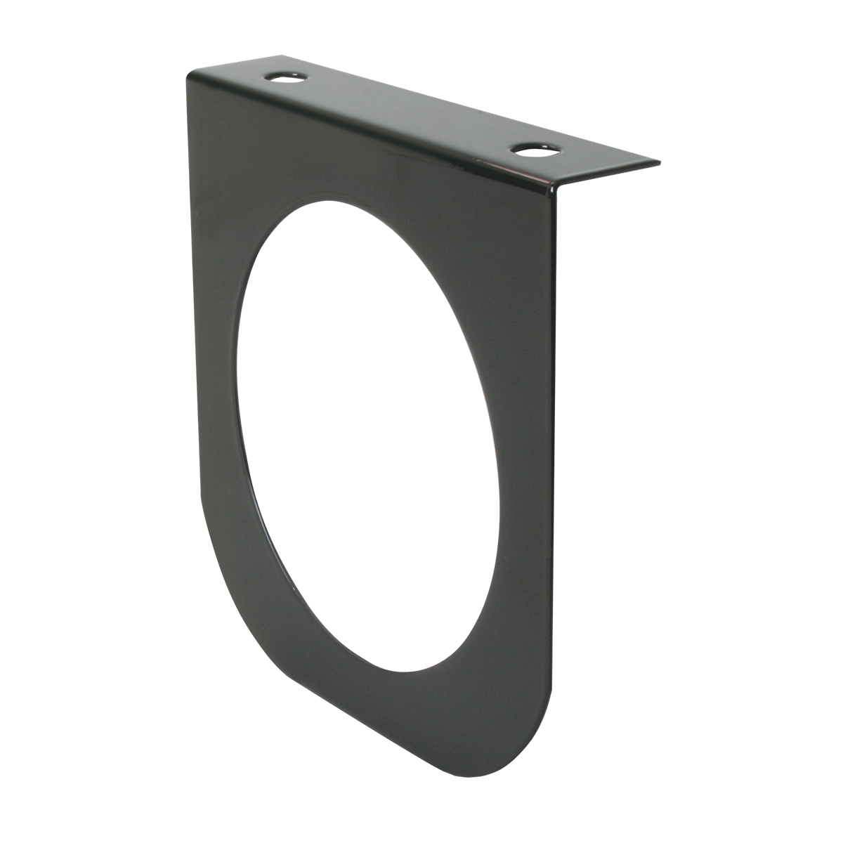 #81390 Black Painted Steel Light Bracket Only