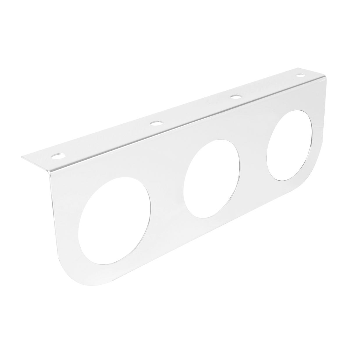 #81520 Chrome Plated Steel Light Bracket Only