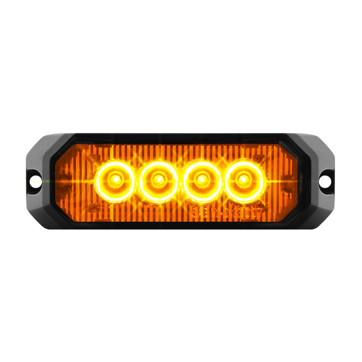"""81800 4"""" Medium Rectangular High Power LED Strobe Light"""