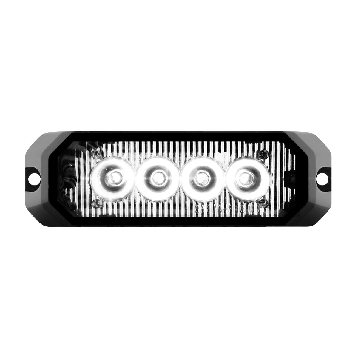 """81804 4"""" Medium Rectangular High Power LED Strobe Light"""