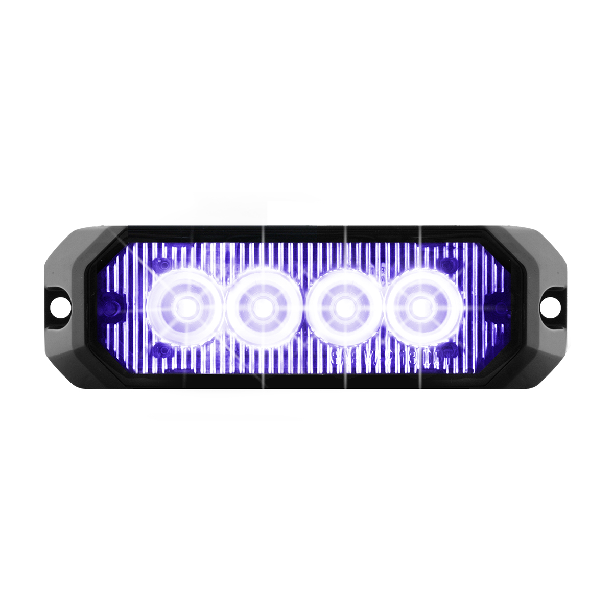 """81806 4"""" Medium Rectangular High Power LED Strobe Light"""