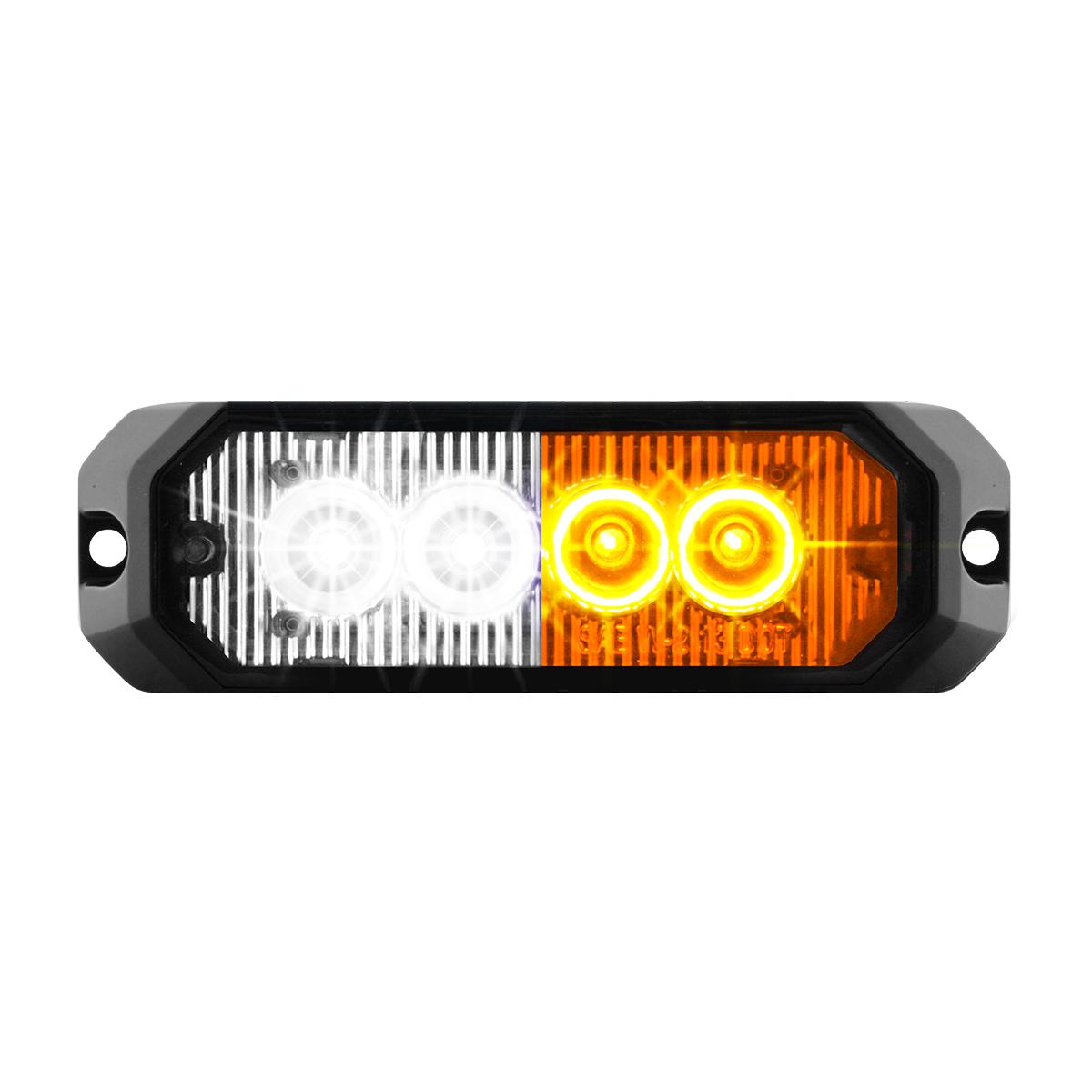 """81809 4"""" Medium Rectangular High Power LED Strobe Light"""