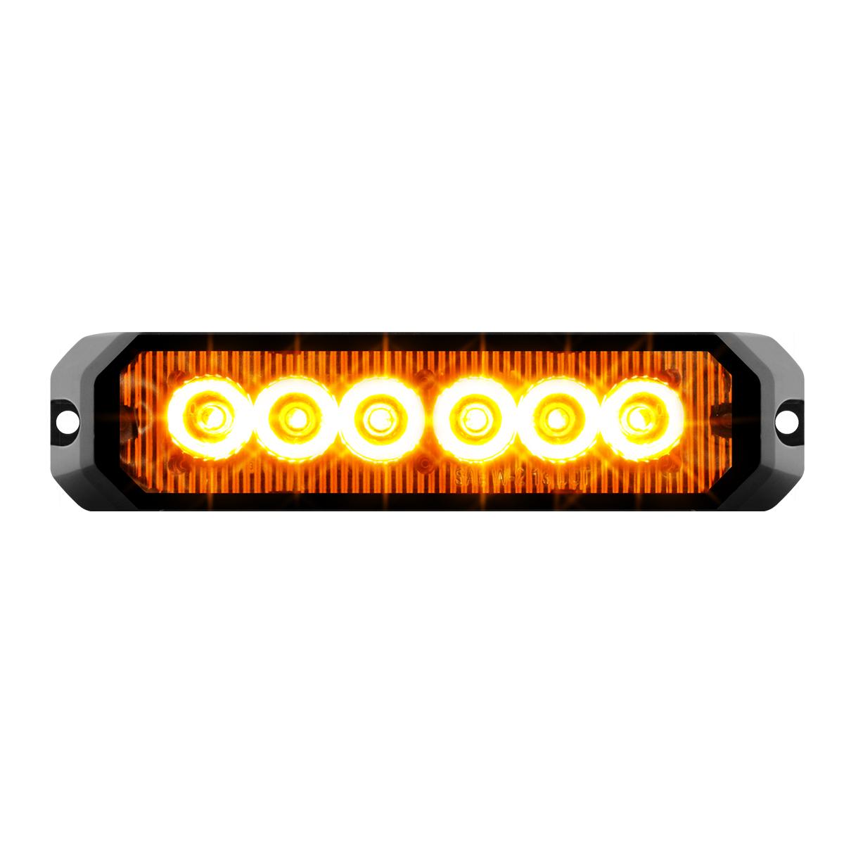 """81810 5"""" Medium Rectangular High Power LED Strobe Light"""