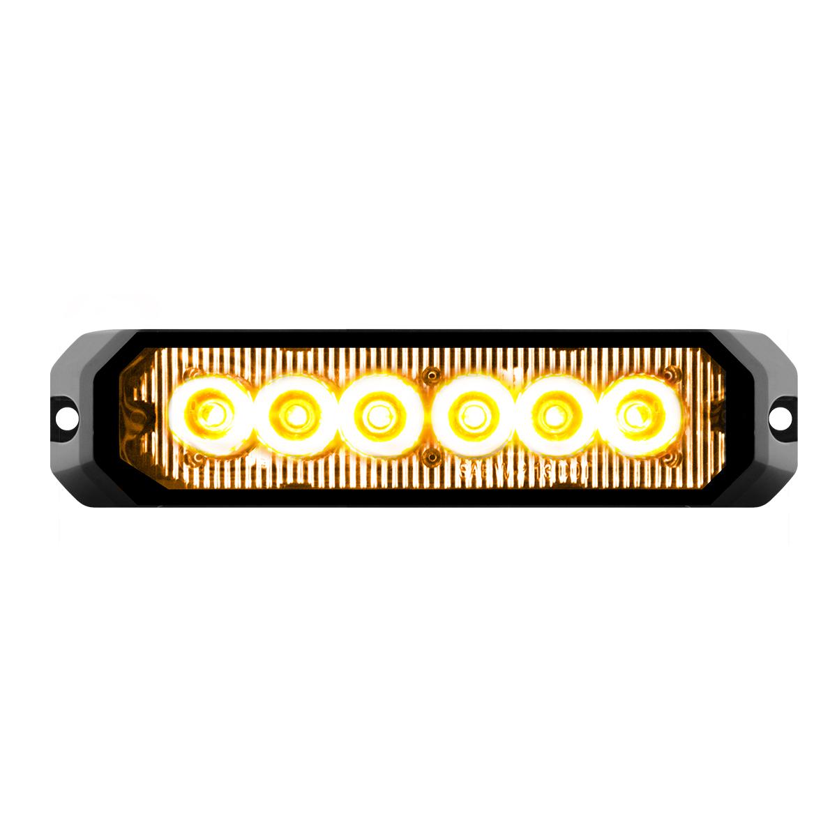 """81811 5"""" Medium Rectangular High Power LED Strobe Light"""