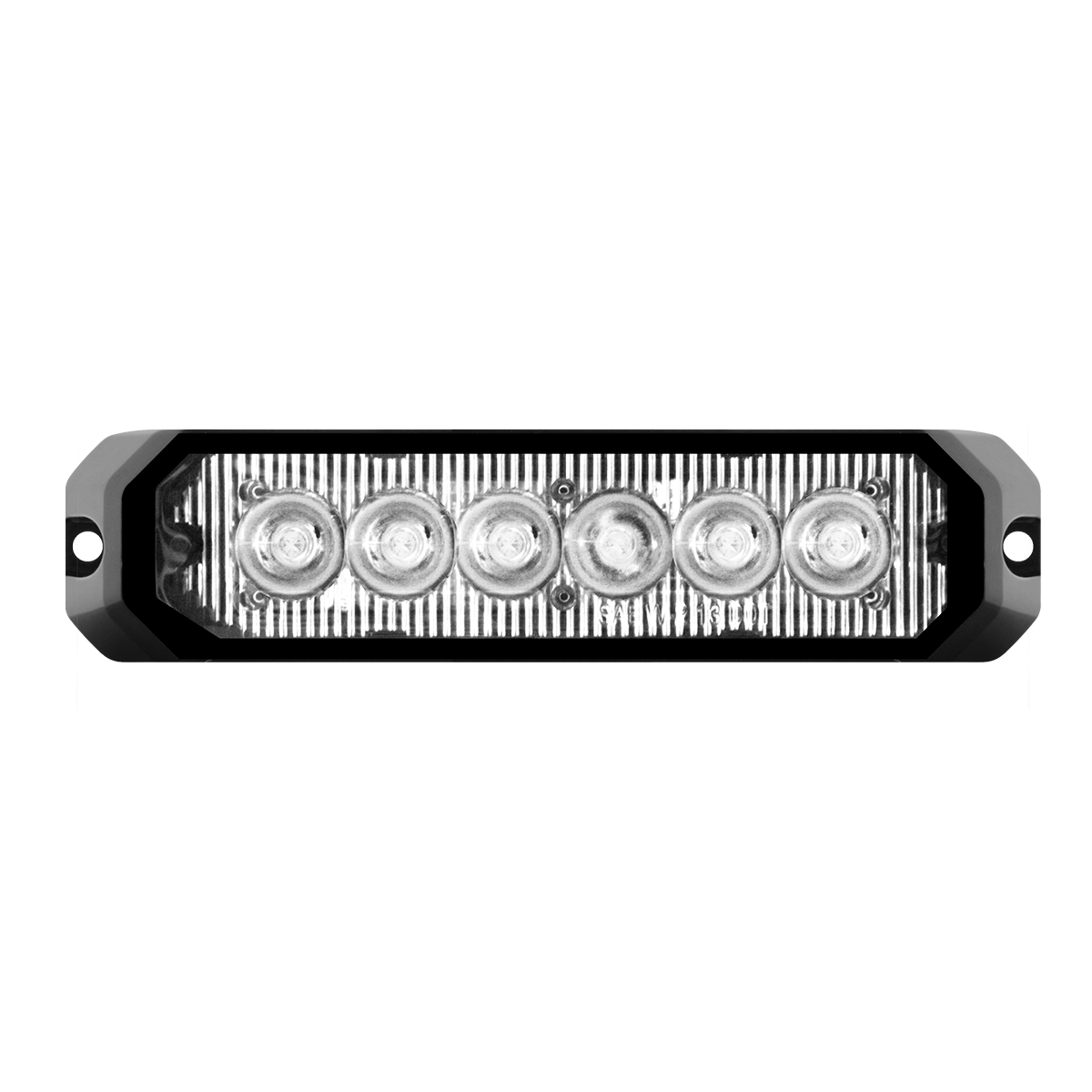 """81813 5"""" Medium Rectangular High Power LED Strobe Light"""