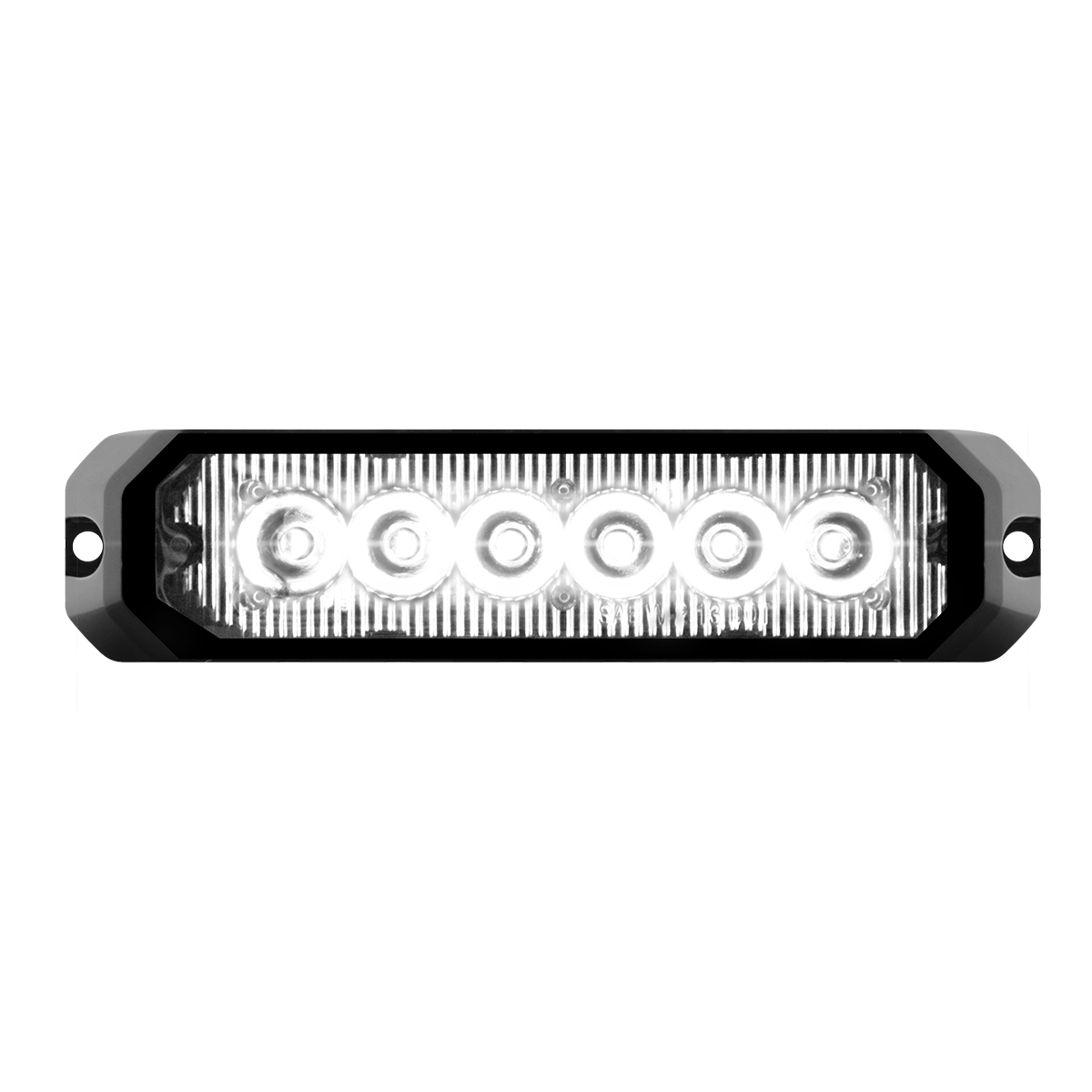 """81814 5"""" Medium Rectangular High Power LED Strobe Light"""