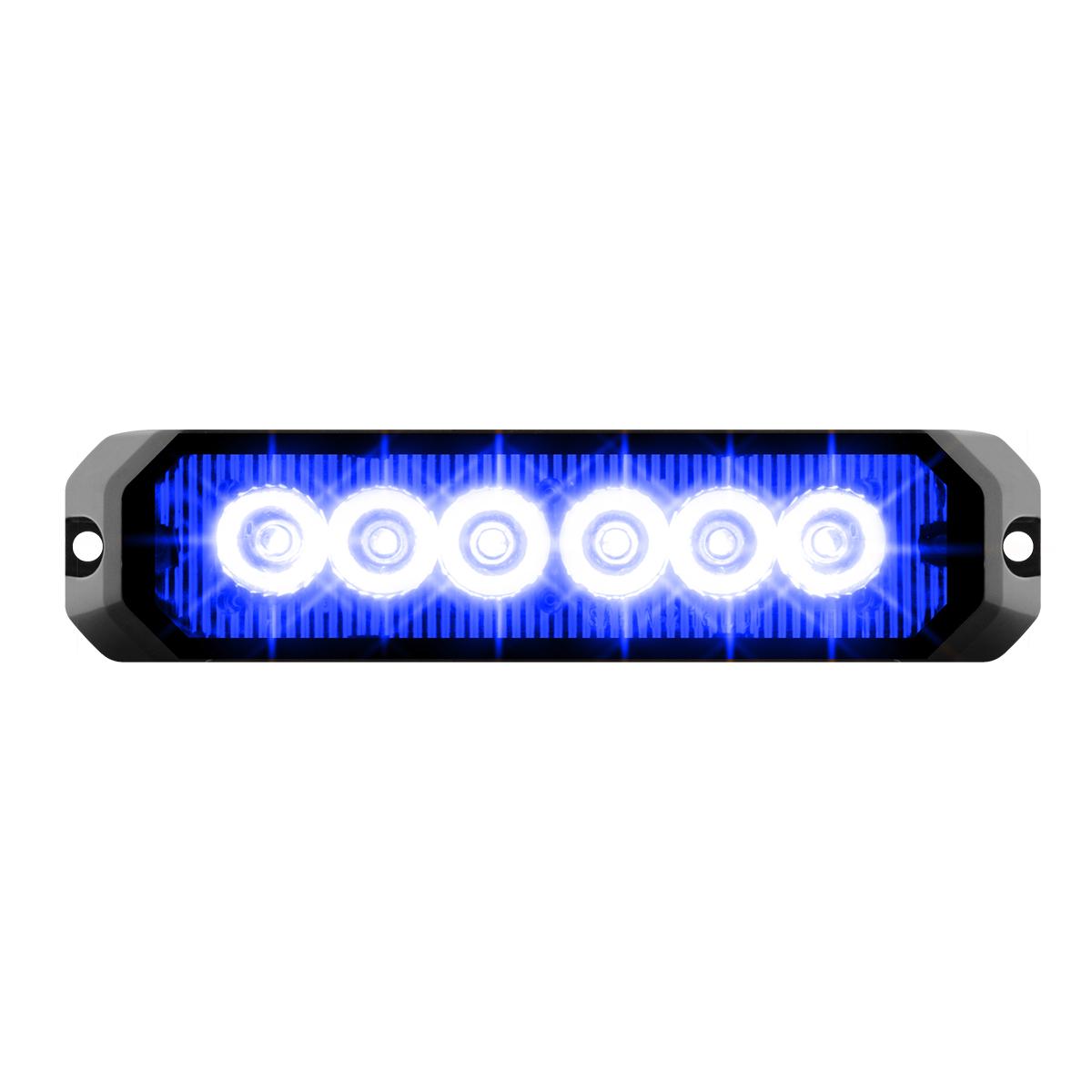 """81815 5"""" Medium Rectangular High Power LED Strobe Light"""