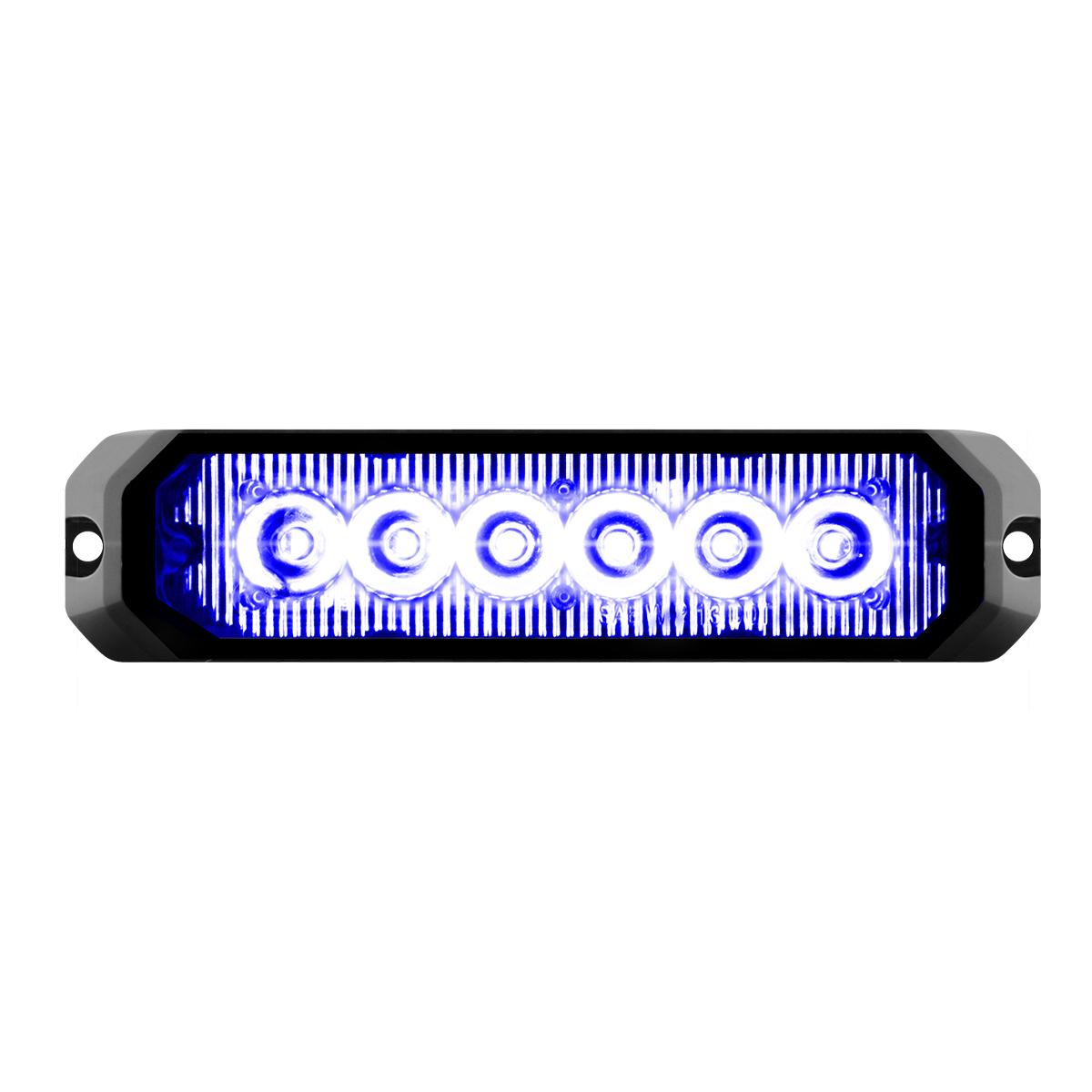 """81816 5"""" Medium Rectangular High Power LED Strobe Light"""