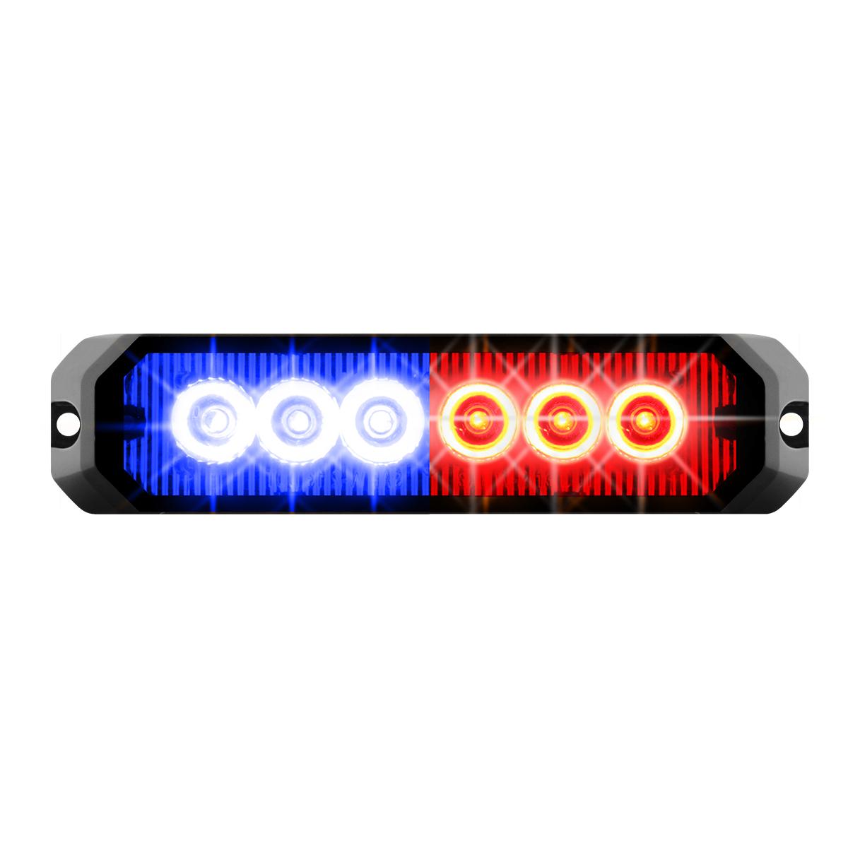 """81817 5"""" Medium Rectangular High Power LED Strobe Light"""