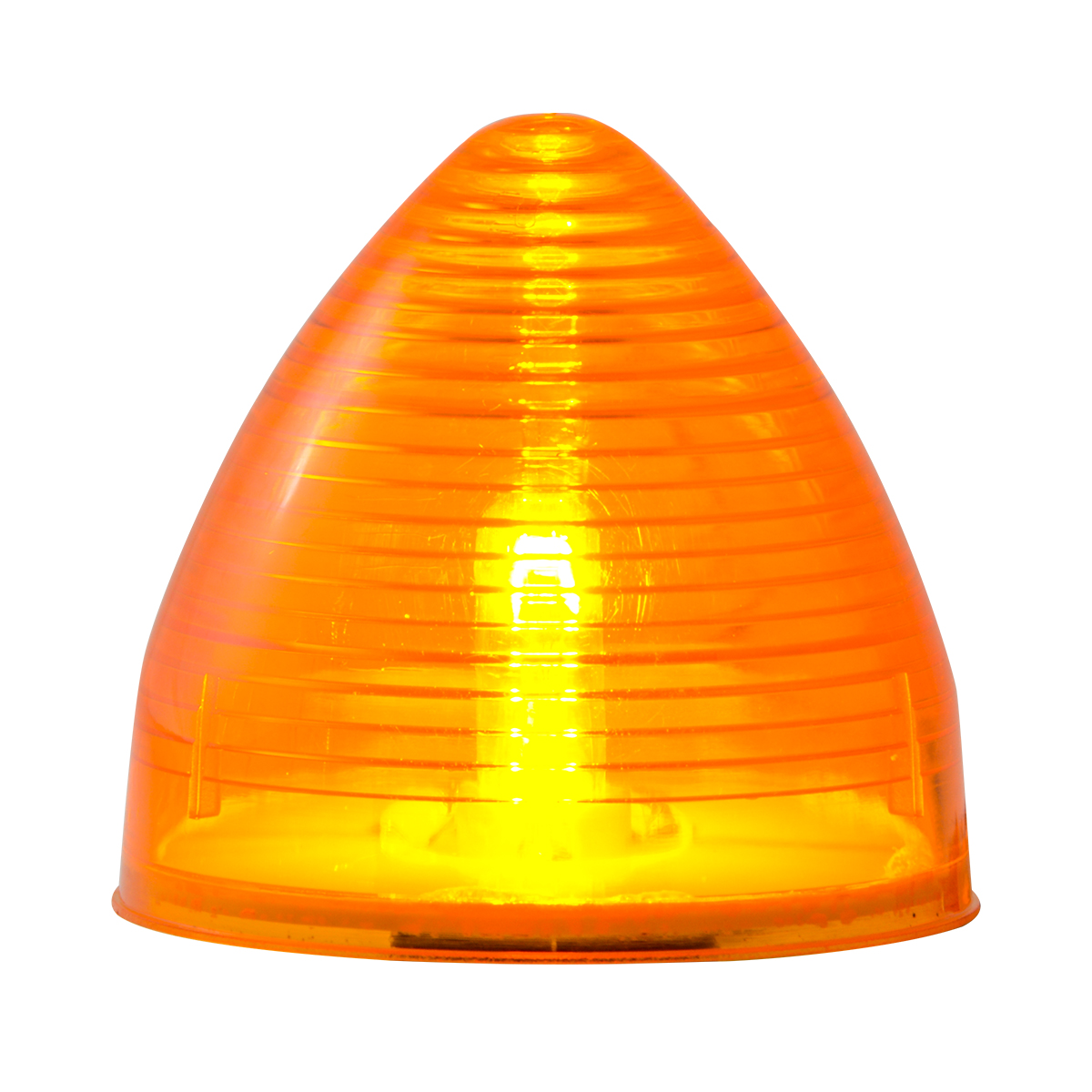 "#82830 2 ½"" Incandescent Beehive Amber/Amber Light"