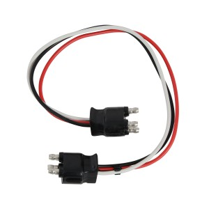 3-Prong Light Adaptor Plug for 2 Function Lights