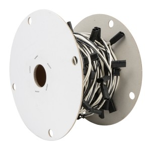 Continuous Double Female Bullet Light Plug Wire Harness Rolls