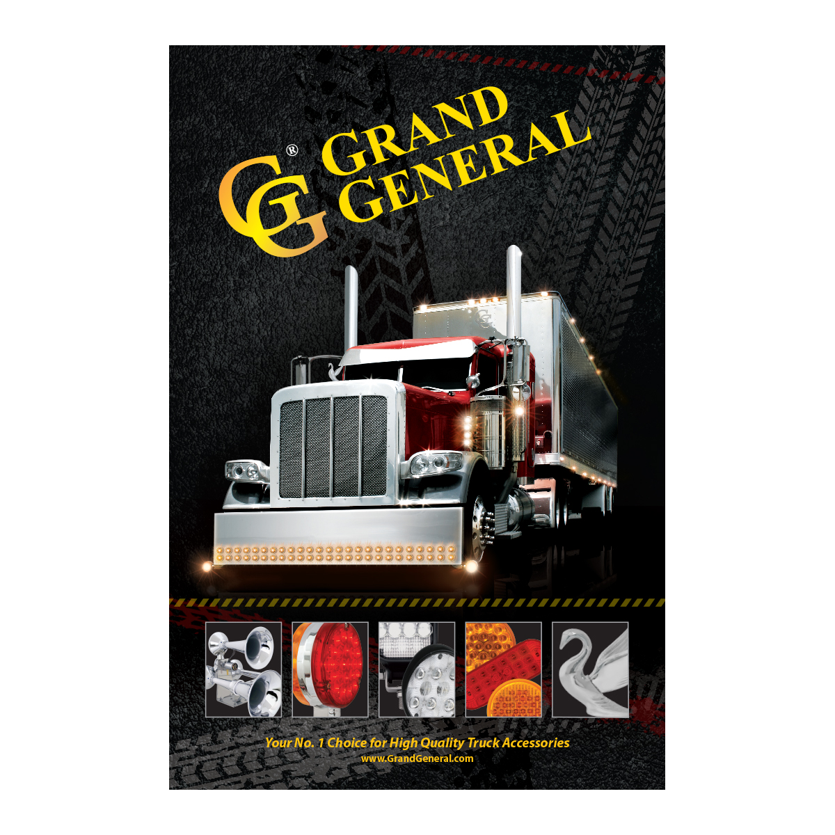 """Grand General Truck Poster 24"""" (W) x 36"""" (H)"""