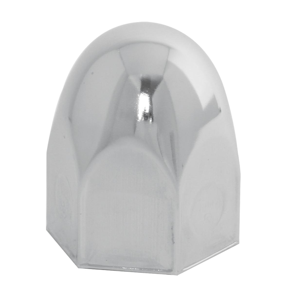 10038 Chrome Steel Push-On Bullet Style Lug Nut Cover w/o Flange