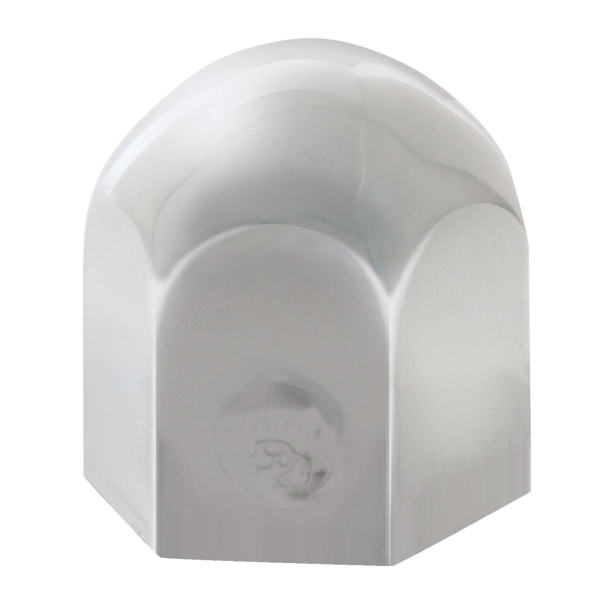 Chrome Push-On Standard Lug Nut Cover w/o Flange for Multi-Purpose