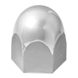 Standard Chrome Steel Push-On Lug Nut Cover for Hino Truck