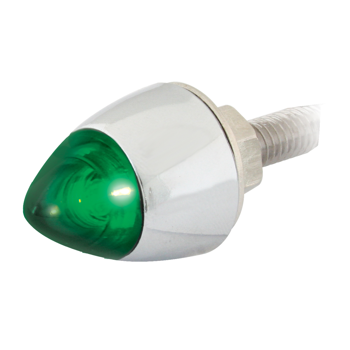50922 Green Bullet Fastener LED Light
