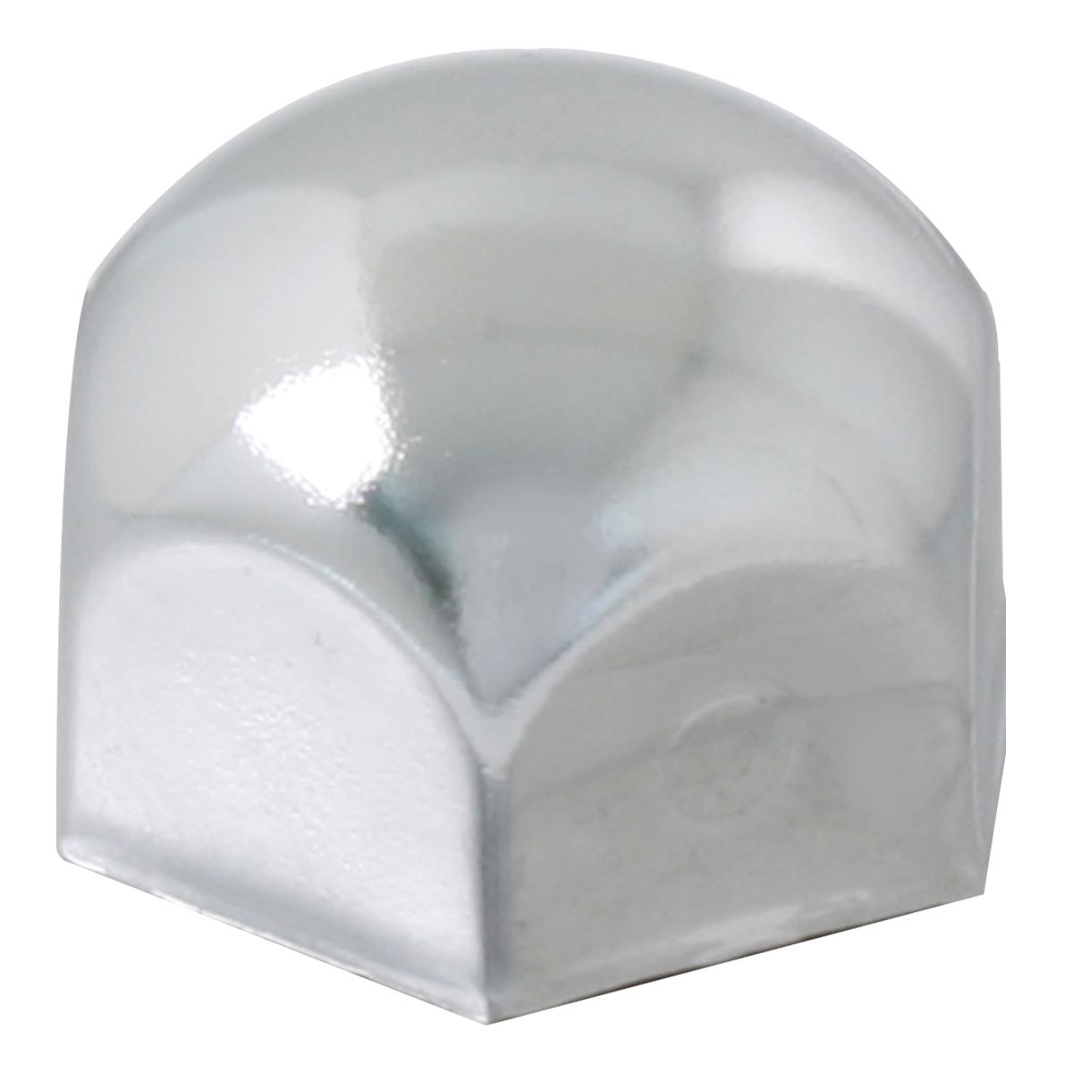 70020 Chrome Push-On Standard Lug Nut Cover w/o Flange for Bumper