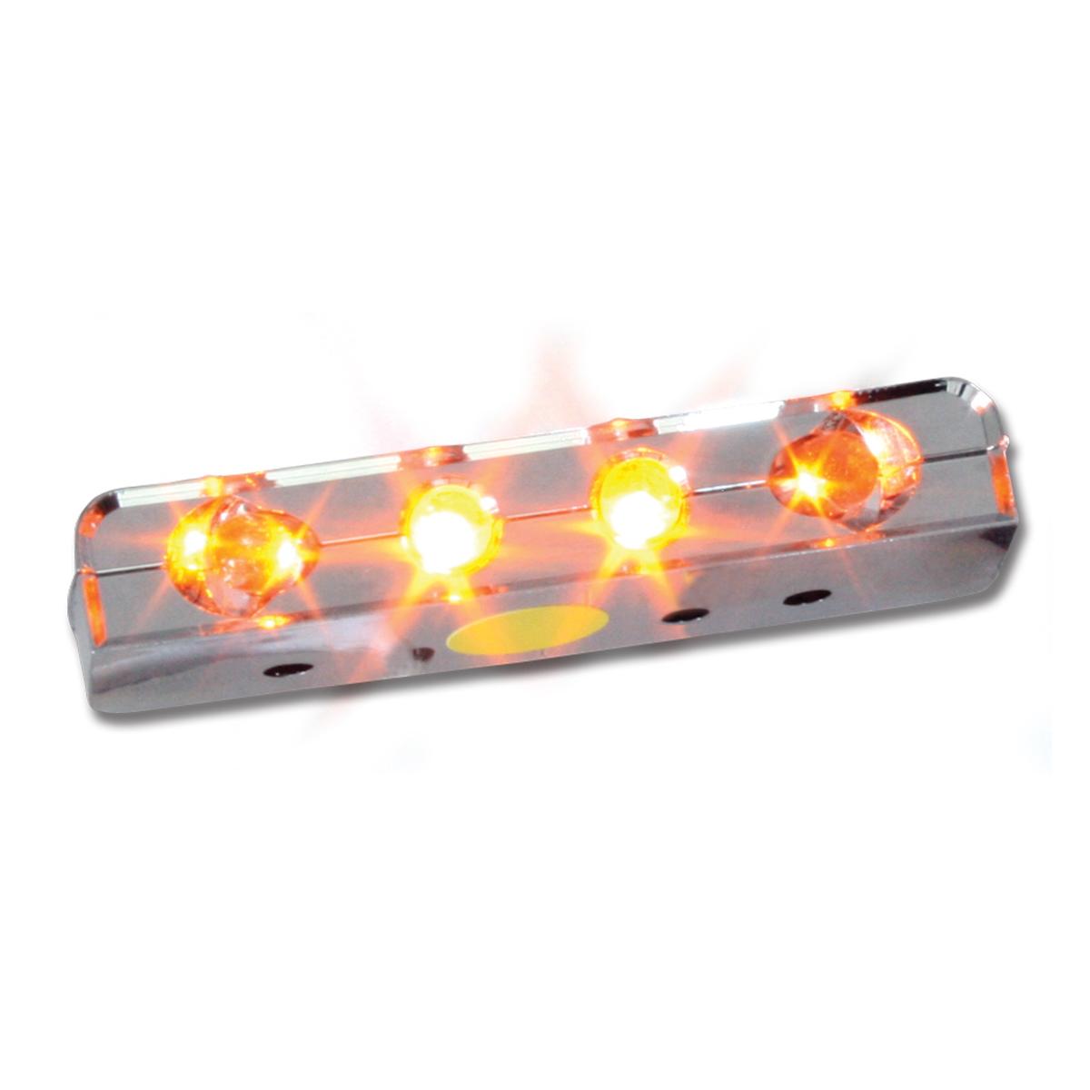 77100 Amber 4 LED Step Light