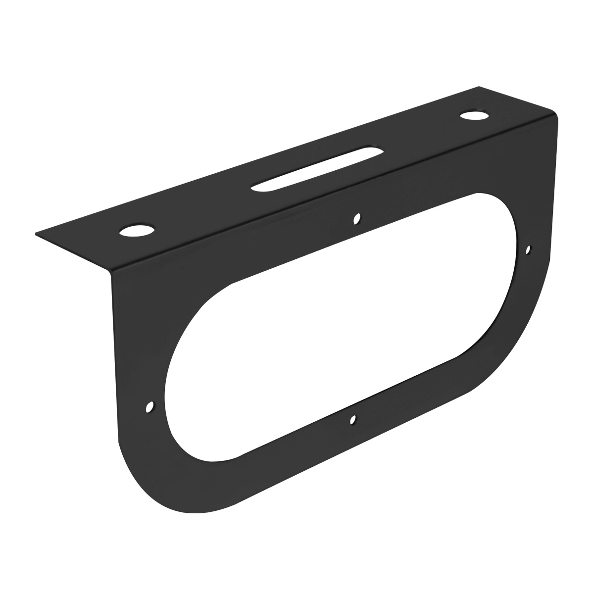 "#81380 Black Single Light ""L"" Shape Mounting Bracket Only"