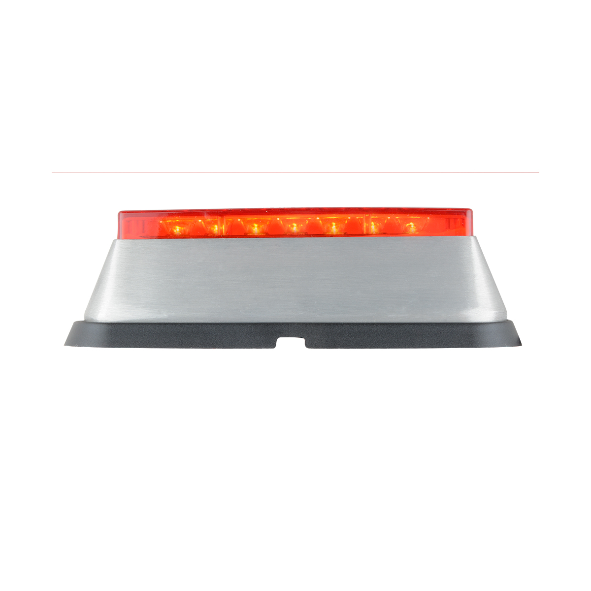 81822 Red/Red Medium Rectangular 14 LED Strobe Light