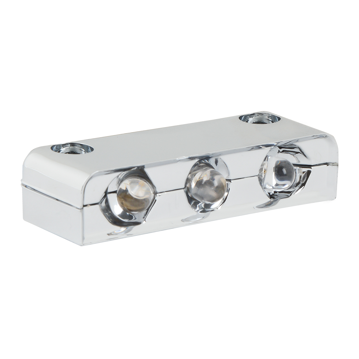 3 LED Step Light w/ Chrome Housing