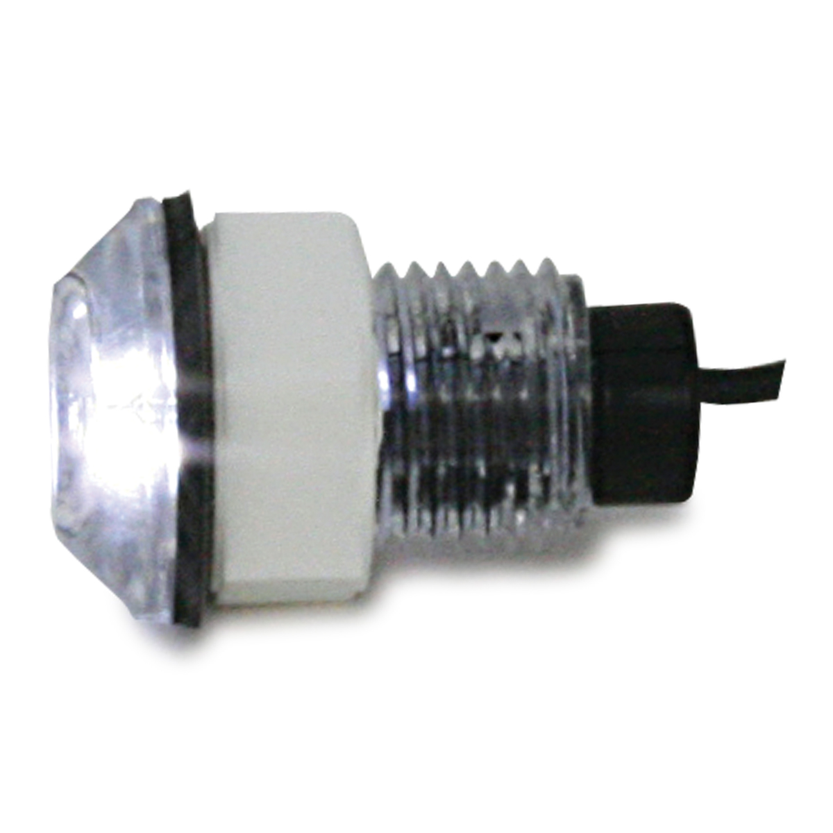 87454 White Bulkhead Live Well LED Light