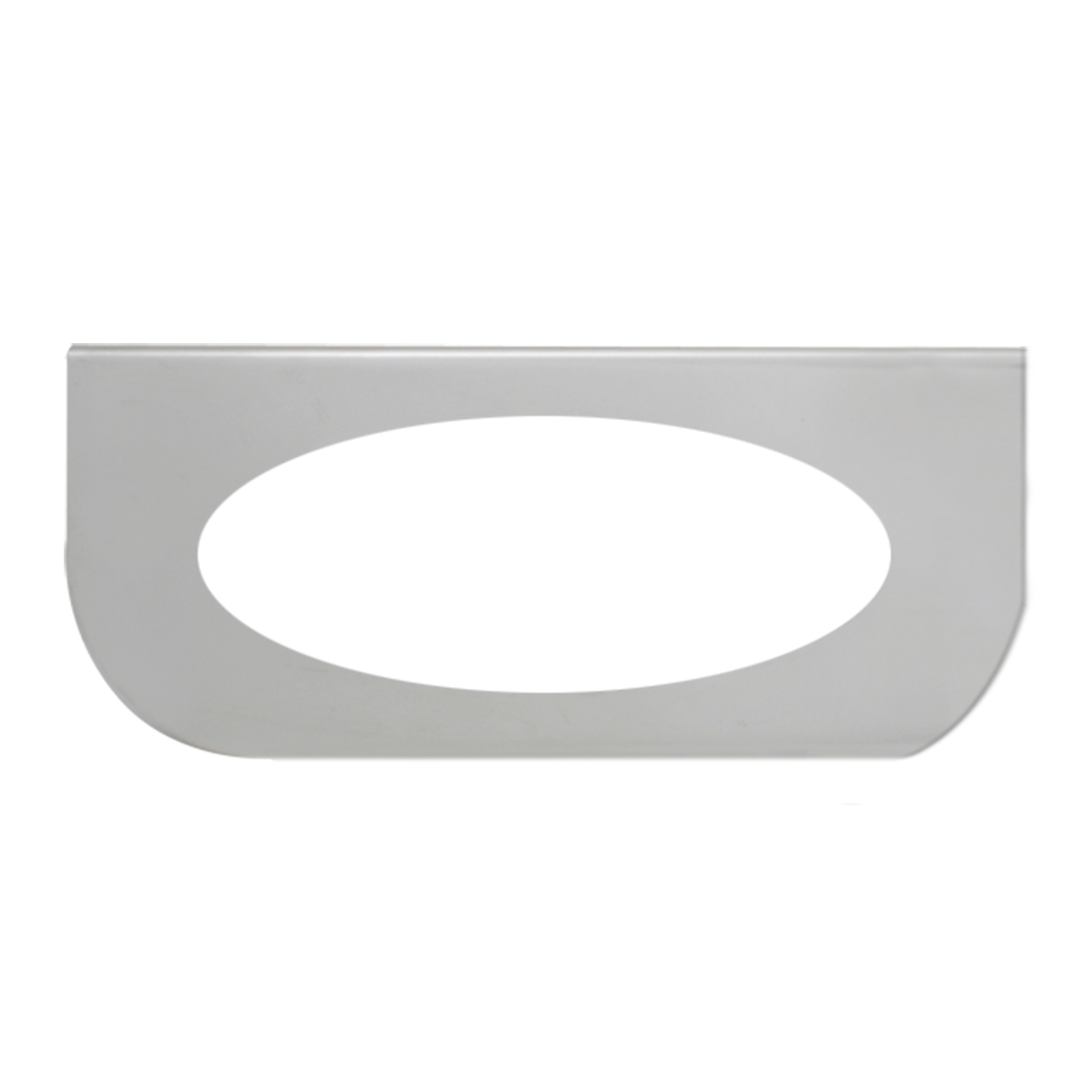 """#89019 Single Chrome """"L"""" Shape Light Bracket Only"""