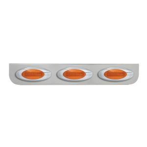 """Chrome """"L"""" Shape Light Bracket for Plug-In Y2K Incandescent Marker Lights"""