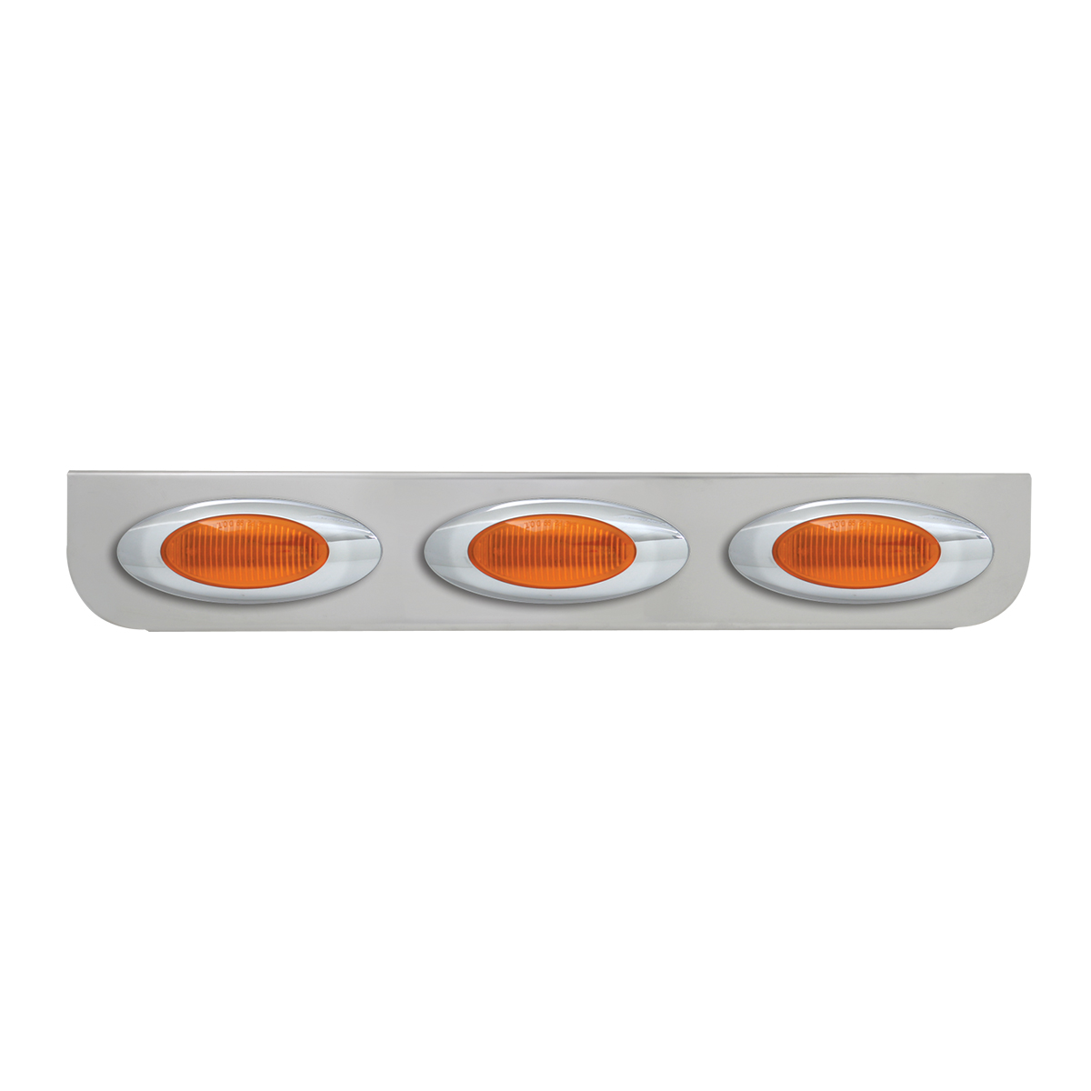 "#89050 Triple Chrome ""L"" Shape Light Bracket with Plug-In Y2K Incandescent Light"
