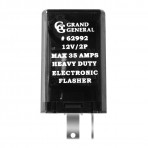 Rectangular LED Flasher w/ 2 Pins & Max 35 AMPS
