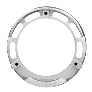 Bezel w/ Visor for 4″ Round Combination Pedestal Lights