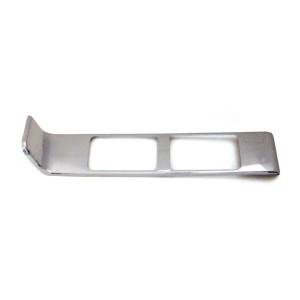 Chrome Plastic Passenger Side Vent Register Cover for Peterbilt