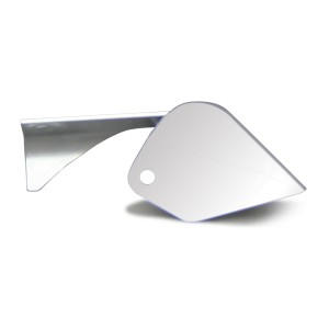Chrome Plastic Under Dash Vent for Peterbilt