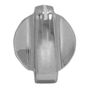 Chrome Plastic A/C Control Knob for Peterbilt 2005+