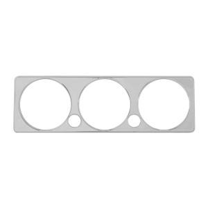 Chrome Plastic A/C Control Plate Cover for Peterbilt 2005+