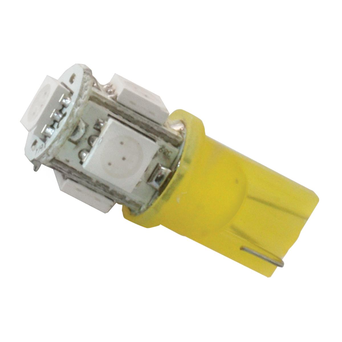 74910 Amber 194/168 Tower Style 5 LED Light Bulb