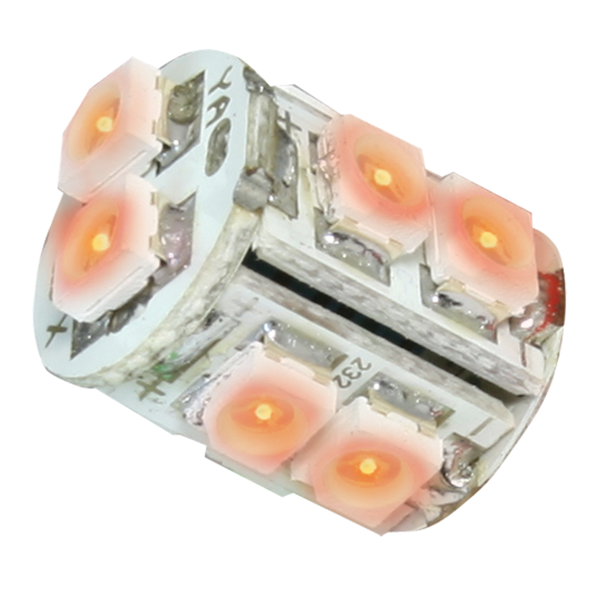 74920 Amber 194/168 Tower Style 10 LED Light Bulb