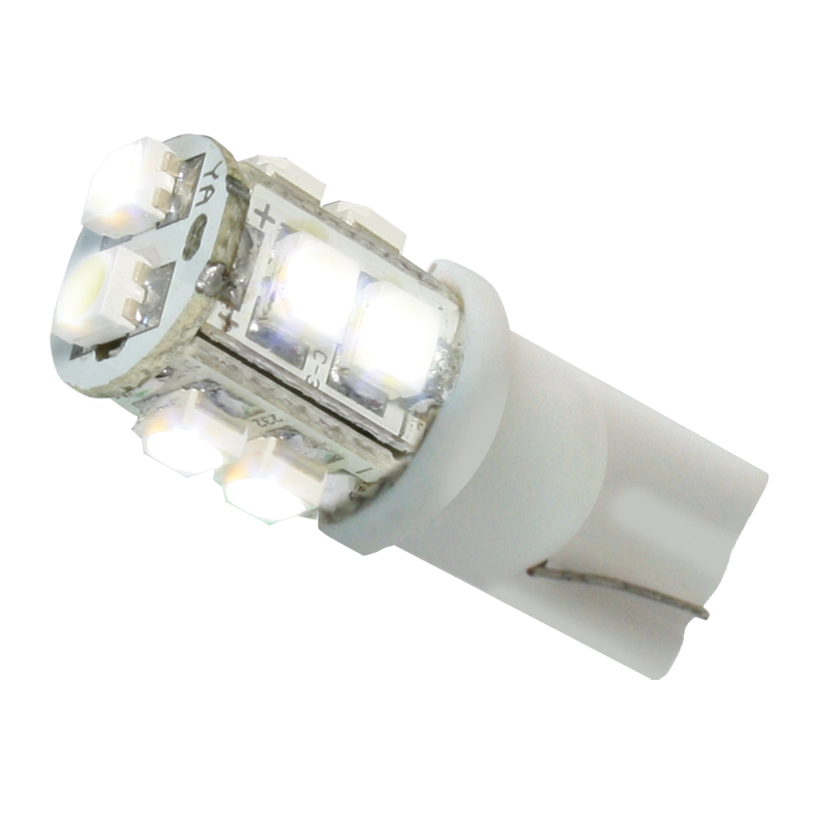 74924 White 194/168 Tower Style 10 LED Light Bulb