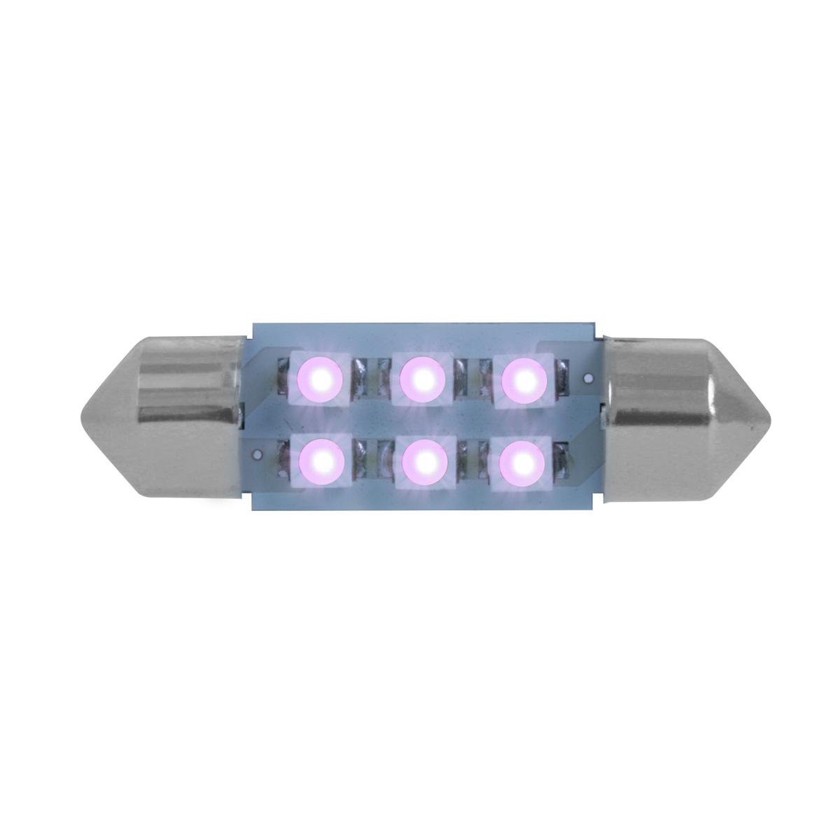 75005 Purple 211-2 Dome Type 6 LED Light Bulb