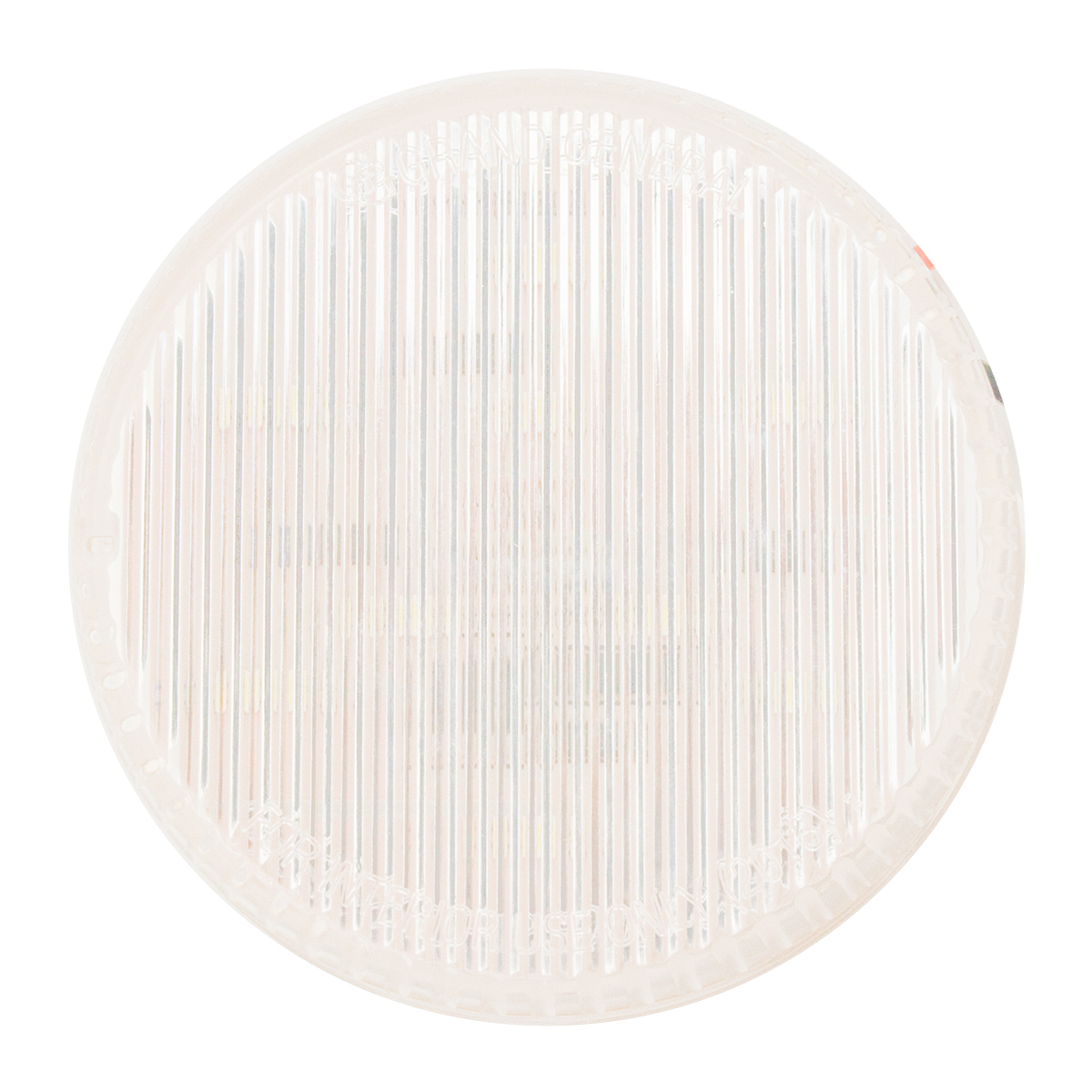"2-1/2"" Round Dual Function Light in Clear Lens"