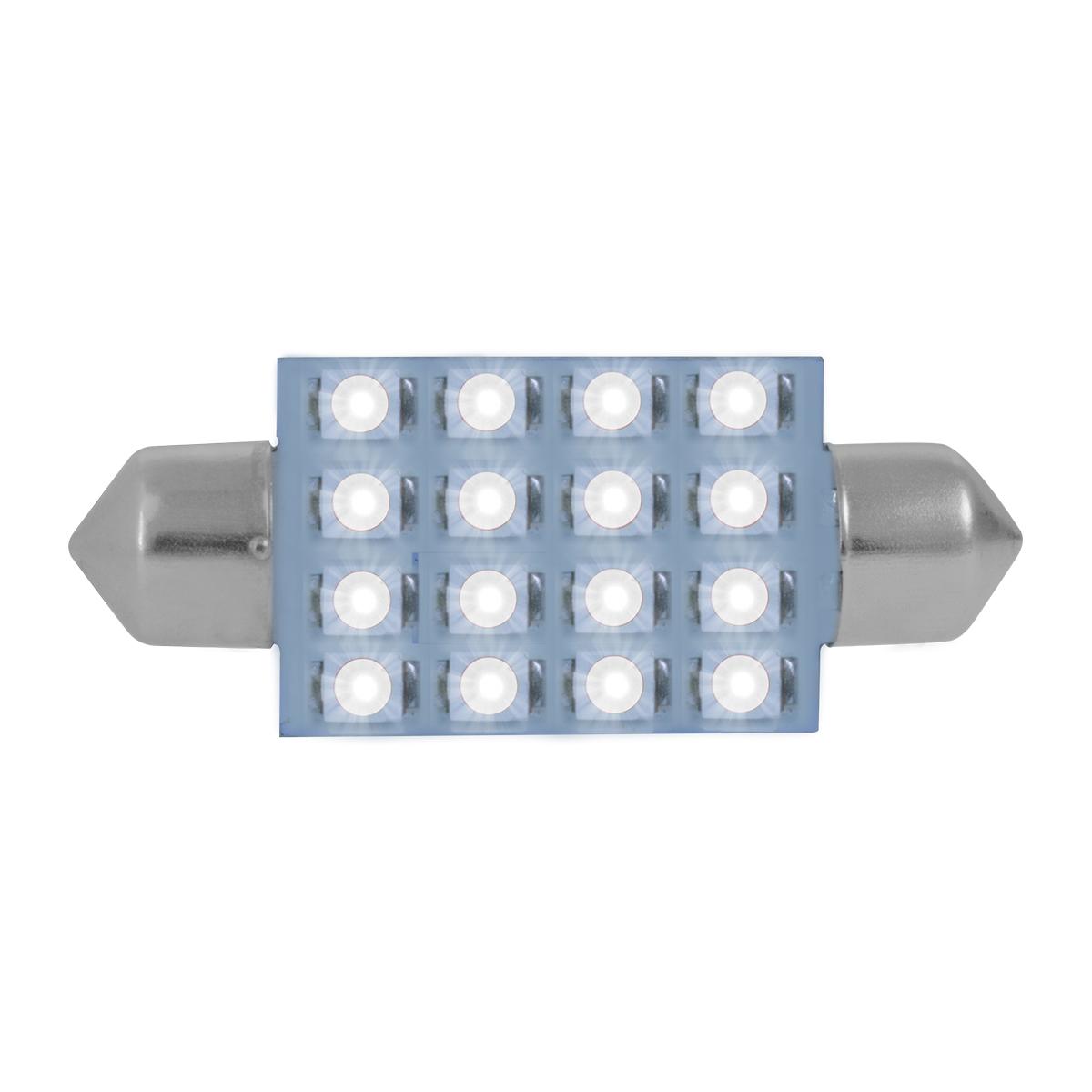 76104 White 211-2 Dome Type 16 LED Light Bulb