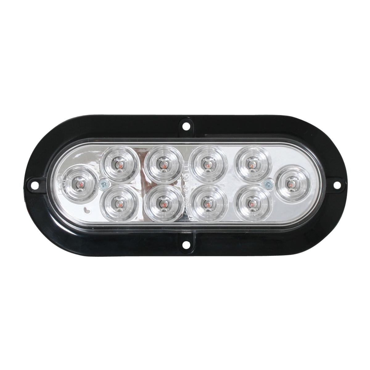 76871 Surface Mount Oval Mega 10 Plus LED Light