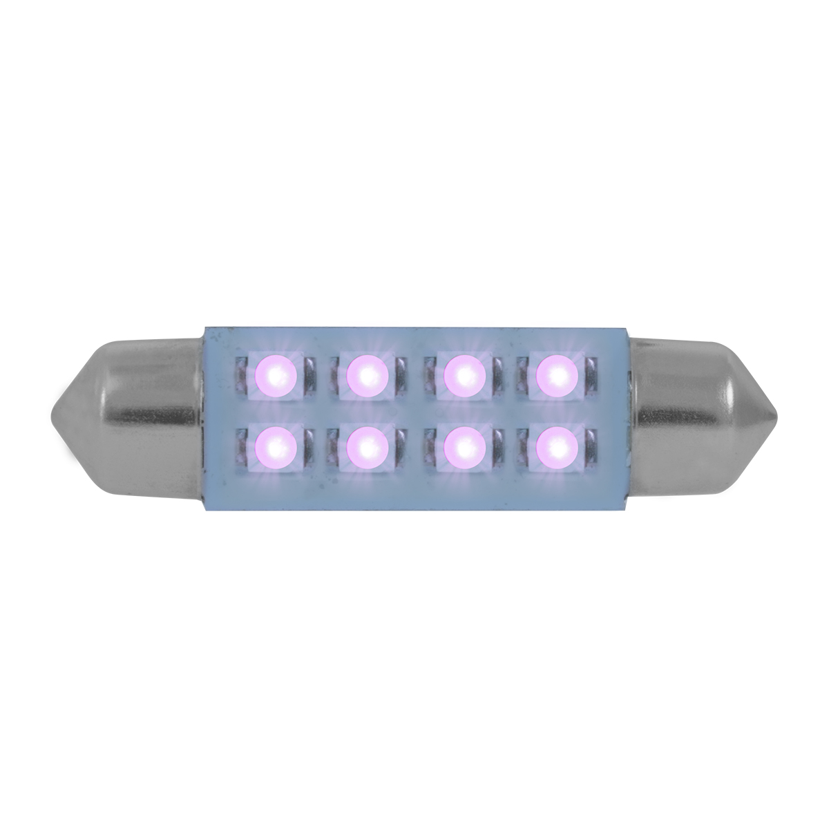 77155 Purple 211-2 Dome Type 8 LED Light Bulb