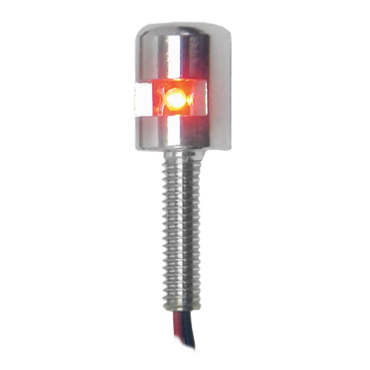 77204 Red Side Type Screw LED Light