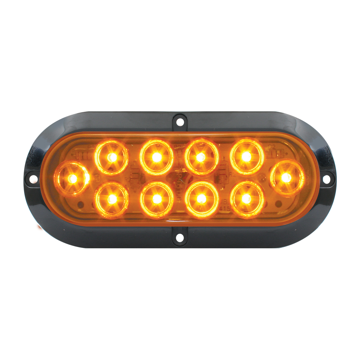 77430 Surface Mount Oval Mega 10 LED Light
