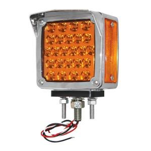 Bezel w/ Visor for Square Double Face Pearl LED Pedestal Light